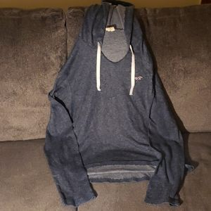 Hollister juniors hooded sweatshirt  size Medium